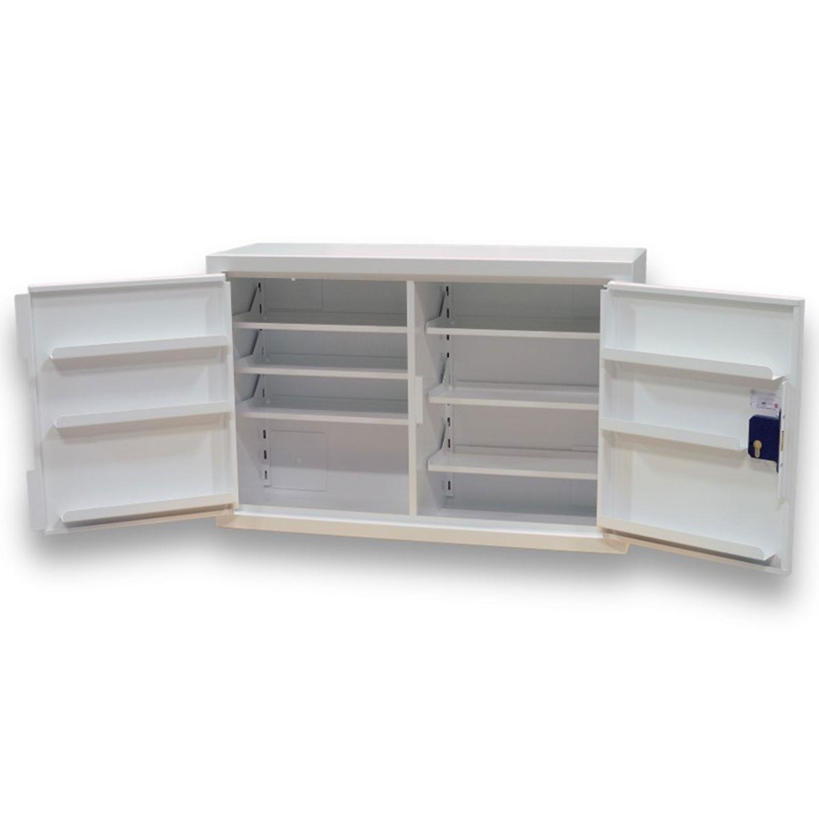 Controlled Drug Cupboard   162 Litre Double Door