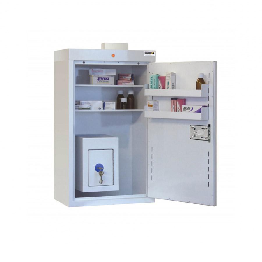 Medicine Cabinet 127 Litre with 17 Litre Inner Drug Cabinet