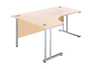 Consultancy Desk 1600mm Wide - Right Handed- J Shaped Consultancy Desk 1600mm Wide - Right Handed