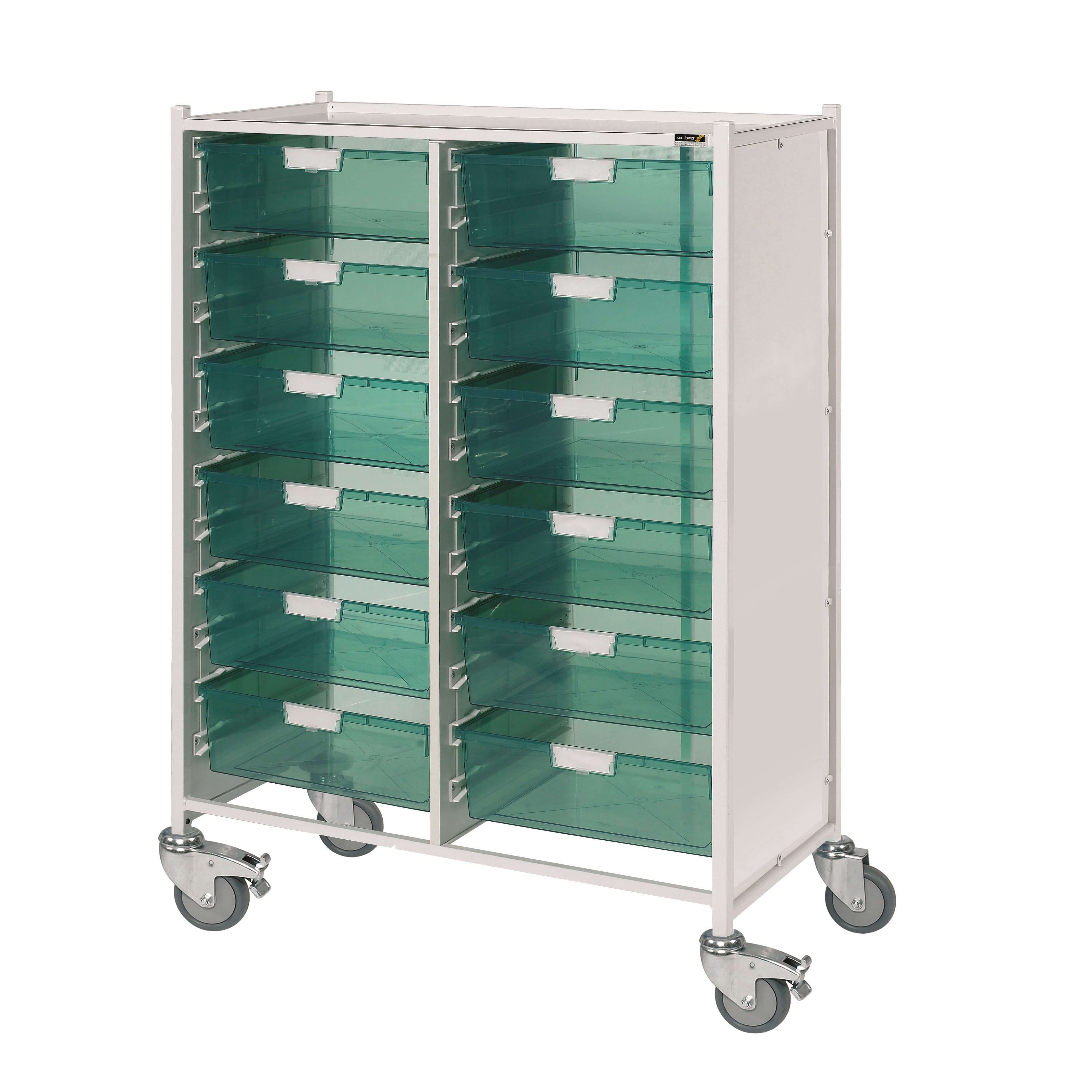 VISTA 240 Trolley - 12 Double Green Trays