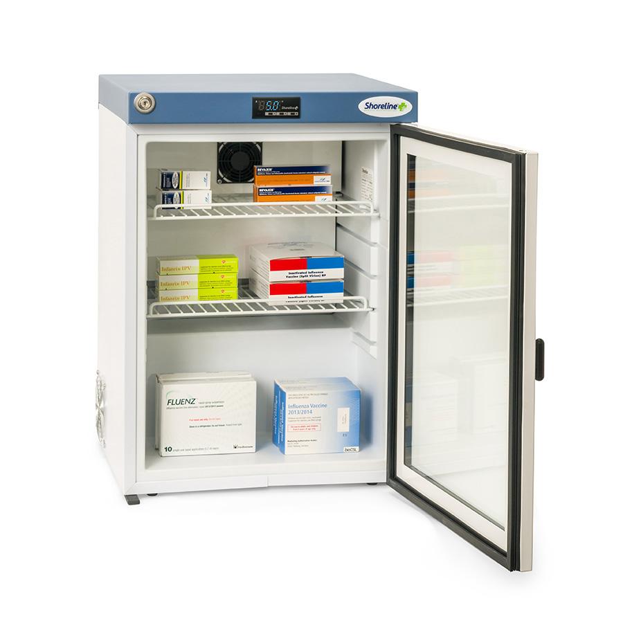 Shoreline SM60G - 60 Litres Pharmacy Fridge with Glass Door
