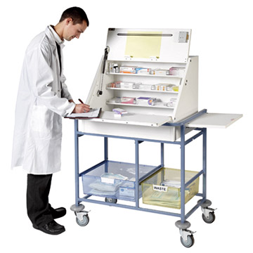 Ward Drug & Medicine Trolley